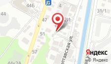 Гостевой дом Амина на карте