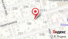 Гостевой дом Рубин на карте