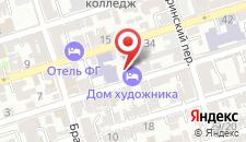 Гостиница Дом Художника на карте