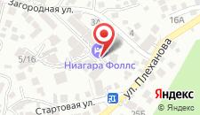 Гостиница Ниагара Фоллс на карте