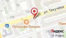 Апартаменты Акрополь на Текучева на карте