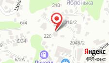 Апартаменты На Виноградной на карте
