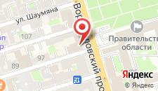 Отель Mercure на карте