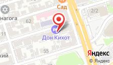 Бизнес-отель Дон Кихот на карте
