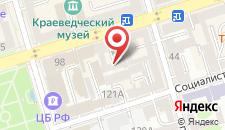 Хостелы Рус - Ростов на карте
