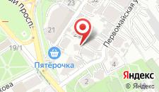 Апартаменты На Первомайской на карте