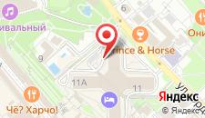 Отель Pullman Sochi Centre на карте