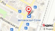 Отель Сочи-Ривьера на карте