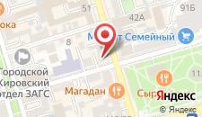 Мини-отель Суворов на карте