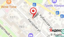 Отель Фидан на карте