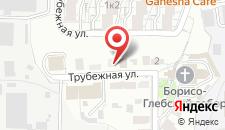 Хостел Стиляги на карте