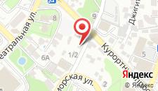 Мини-гостиница Чайка на карте