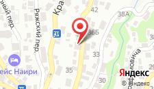 Гостевой дом Золотая миля на карте