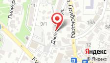 Апартаменты На Джигитской на карте