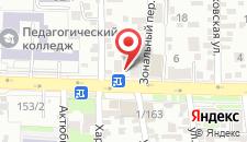 Отель Ростов на карте