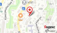 Гостевой дом Верещагинский на карте