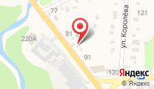 Гостевой дом на Партизанской, 87 на карте