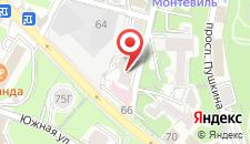 Отель Estet на карте