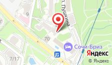 Хостел Olympic на карте