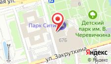 Гостиница Парк Сити на карте