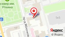 Гостиница Форум на карте