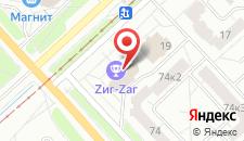 Мини-отель Радуга на карте
