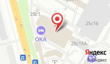 Гостиница Ока на карте