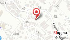 Гостевой дом Серебряный Утёс на карте