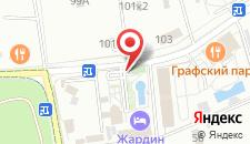 Отель Жардин на карте