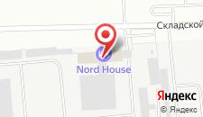 Гостиница Nord House на карте