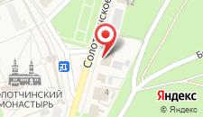 Отель Боровница на карте