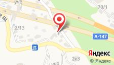 Санаторий и комплекс отдыха Мыс Видный на карте