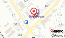 Отель Бел Отель на карте