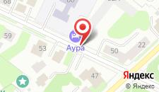 Отель Aura hotel & spa на карте
