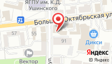 Мини-отель Кристайл на карте
