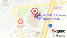 Гостиница Святой Георгий на карте