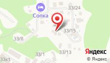 Гостевой дом У Светланы на карте