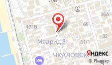 Гостиница Милетта на карте