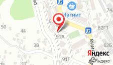 Апартаменты На Дарвина 91 на карте