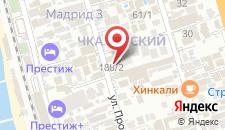 Отель Грация на карте