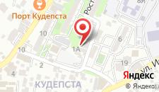 Апартаменты Кудепсточка на карте