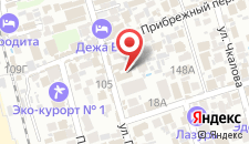 Гостиница Ева на карте