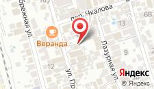 Гостиница Колибри на Просвещения на карте