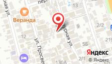 Гостевой дом Александрит на карте