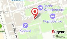 Отель Дельфин Адлеркурорт на карте