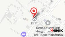 Отель Сильвер на карте