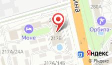 Апартаменты Орхидея Парк на карте