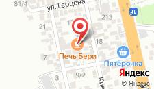 Отель Cordial на карте