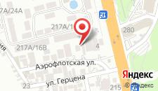 Мини-отель Луч на карте