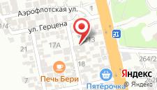 Мини-отель Мартлен на карте